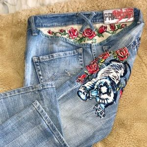 Parasuco Embellished Jeans 27